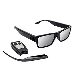 Remote Control & Touch Activated Spy Camera Video Glasses 16GB 1080p HD Recorder
