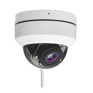 Indoor/Outdoor Wifi Dome Security Camera 5MP 2K HD 5x Optical Zoom Night Vision CamHi App