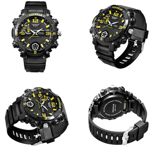 32GB Hidden Spy Video Camera Sports Watch Recorder IP67 Waterproof & LED Torch