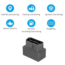 16 Pin Mini OBD GPS Vehicle Tracker Real Time Map Tracking