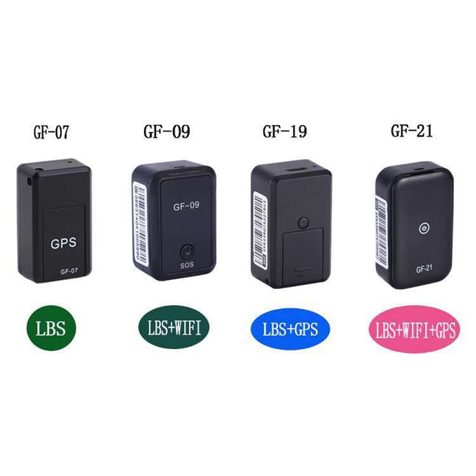 GF07 GF09 GF19 GF21 Miniature Magnetic GPS Tracker & Audio Listening Devices with UK GSM Network 3G/4G/5G Compatible 'Pay As You Go' SIM Card