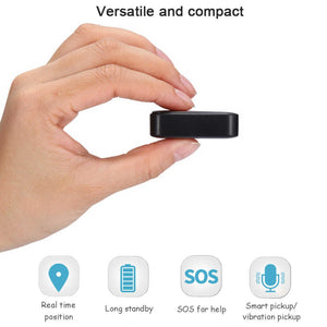 MINIATURE GPS TRACKER PORTABLE LIGHTWEIGHT FOR PERSONAL TRACKING OF ELDERLY PERSON CHILD OR CAR / BIKE & VALUABLE ASSETS TRACK REAL-TIME VIA SMARTPHONE GPS365 APP