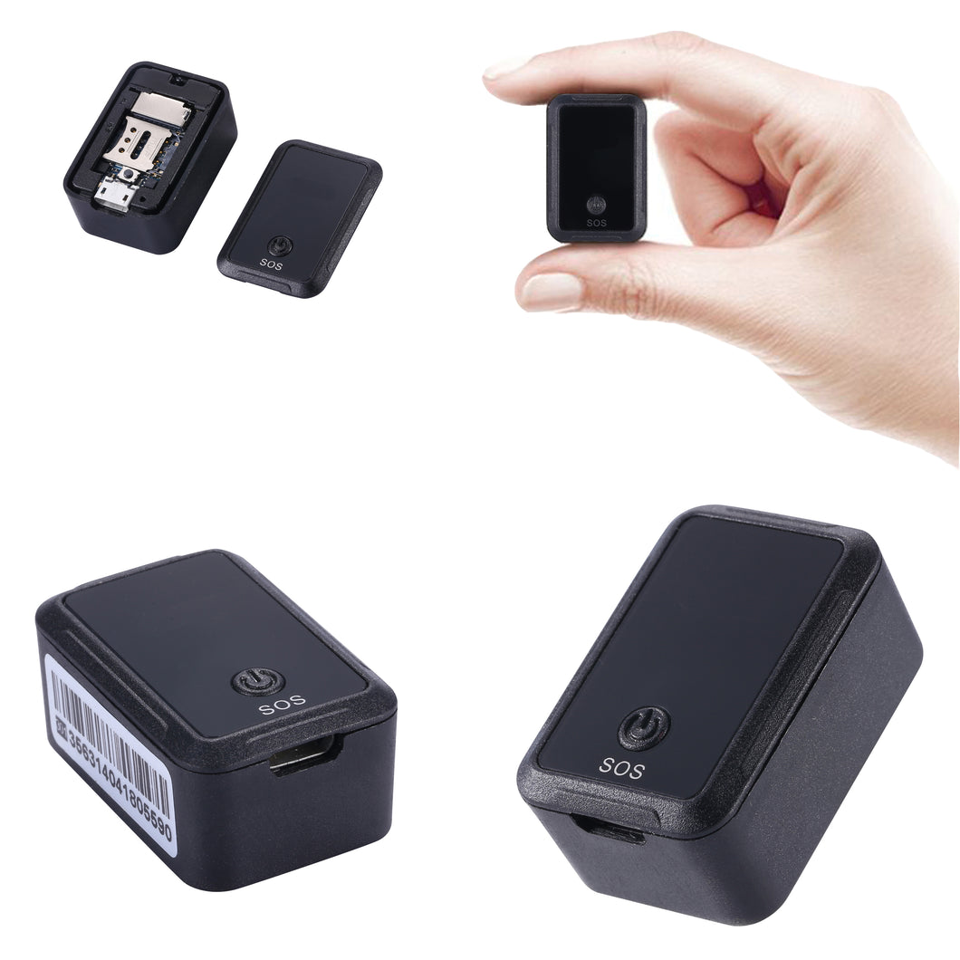 Mini Magnetic GPS Tracker & Audio Listening Device with Built-in Sound Recorder