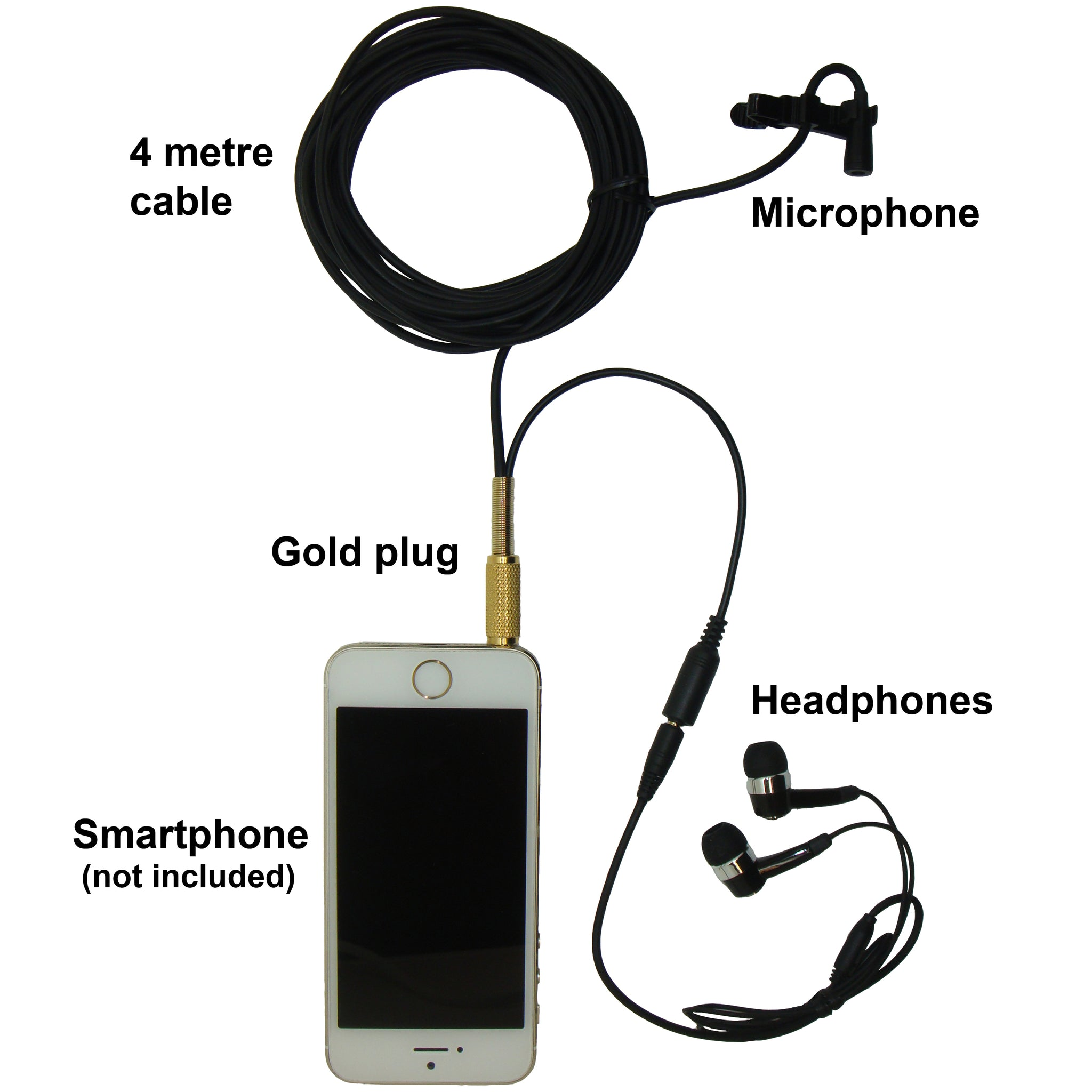 PROFESSIONAL SOUND RECORDER MICROPHONE FOR SMARTPHONE VOICE