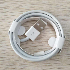 iPhone iOS White Charging Lead 8 Pin Lightning Connector 1/2/3 Metre Lengths