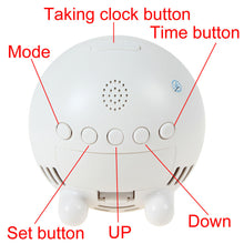 WIFI Security HD 1080p Video Camera Alarm Clock for iPhone Android App