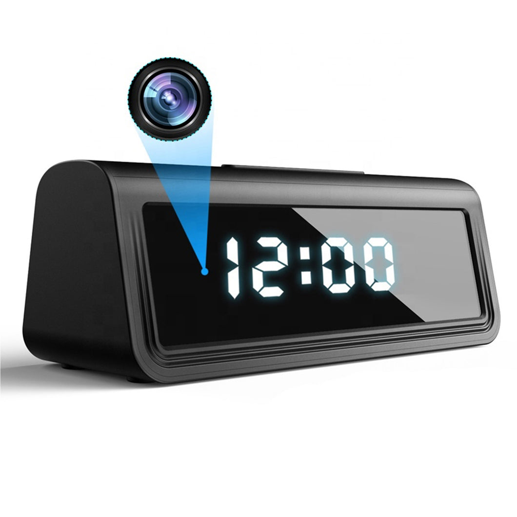 Covert Hidden Spy Clock Camera 4K UHD Wireless Wi-Fi Night Vision Motion Detection Video Recorder