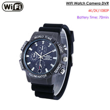 Wireless WiFi Watch Camera Video Recorder 32GB iPhone / Android App
