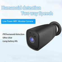 6 Month Battery Power Wire Free Wireless Wifi Video Camera Recorder 2 Way Audio Ubox App
