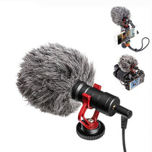 New V-Log Shotgun Microphone for DSLR Camera and Smartphone
