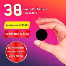 PIN BADGE BROOCH SPY AUDIO VOICE RECORDER COVERT SOUND ACTIVATED 48 HOUR BATTERY