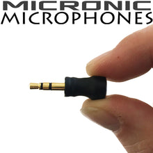 Miniature 3.5mm TRS Stereo Wired Microphone for PC, Laptop and Digital Voice Recorder