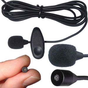 PL1 Professional Lavaliere Sub Miniature Microphone to Clip on Hair / Clothing / Shirt / Tie / Lapel
