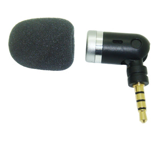 Sub Miniature Microphone 3.5mm TRRS TRS for Smartphone & Laptop