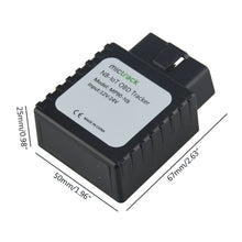 16 Pin OBD Plug In 12v/24v 4G LTE GPS Vehicle Motor Car Lorry Tracker