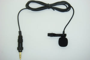 Pro Lavaliere Lapel Microphone Mini Clip On Uni-Directional Cardioid For All Body-Pack Transmitter