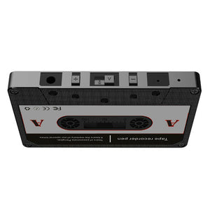 Covert Hidden Voice Operated Recorder & Transmitter in Cassette Tape Sound Activated / 80+ Hour Battery
