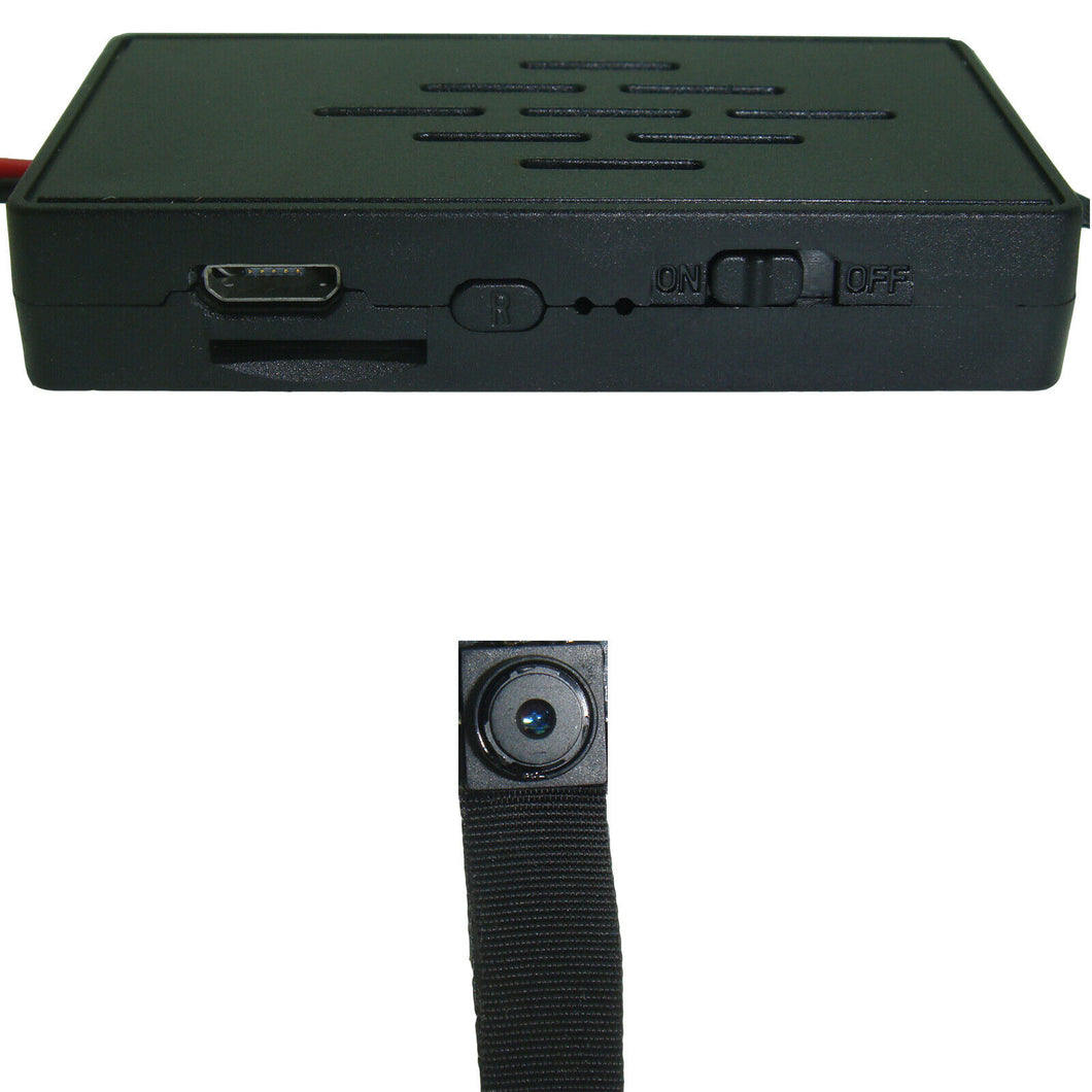 4K Hidden Body Worn Button Camera Wi-Fi Module DVR Video Recorder