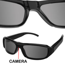 FULL HD 1080p HIDDEN SPY CAMERA DVR IN BLACK SUNGLASSES VIDEO RECORDER GLASSES