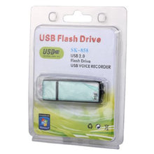 8GB Flash Memory Stick Digital Voice Recorder 18 Hour Battery Life 192K .WAV Recording Capacity