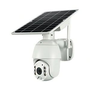 New Solar Power Wireless Wi-Fi 3G/4G CCTV Security Camera Static PTZ Dome