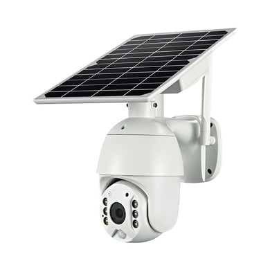Solar Power Wi-Fi & 4G LTE IP Network CCTV Security Dome Camera 2 Way Audio PIR Night Vision