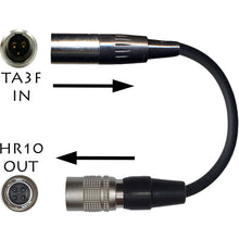 AUDIO TECHNICA 4 PIN HIROSE ATW WIRELESS TRANSMITTER MICROPHONE ADAPTER CABLE