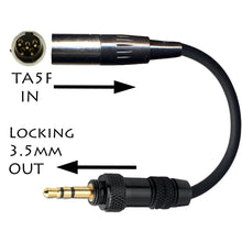 Lectrosonics TA5M/TA5F Microphone Adapter Converter Gender Changer for All types of Transmitter Connectors