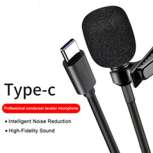 2, 4, 6 Metre Professional External Microphone For Android, Huawei, Samsung Type-C Interface