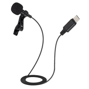 2m-6m Professional External Microphone For Android, Huawei, Samsung Type-C Interface