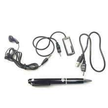 AUDIO DIGITAL VOICE RECORDER IN WORKING BALLPOINT PEN 8GB MEMORY 5 HOURS BATTERY LIFE