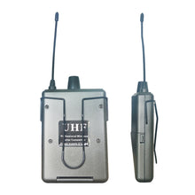 Digital UHF Wireless Lavalier Headset Microphone System Body-Pack Transmitter & 6.35mm Jack Plug Receiver