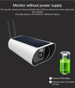 Y9 Wireless 4G Wifi Solar Power Wire Free Video Camera CCTV Security All Year Round