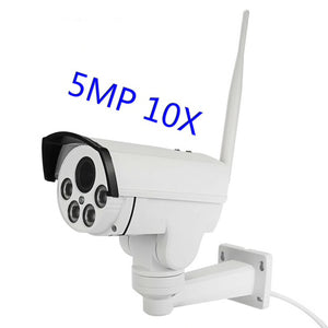 3G 4G Wi-Fi 5MP CCTV Night Vision Optical Zoom Security Camera