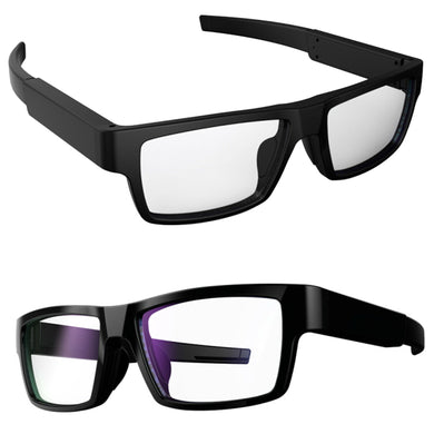 Touch Activated 5MP Camera Glasses HD Spy Video Recorder & Sound