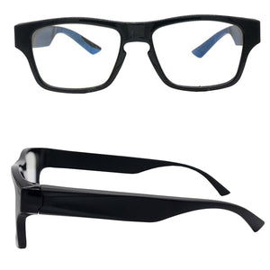 Touch Activated Wireless Wi-Fi Spy Video Glasses 1080p Full HD Invisible Camera Lens