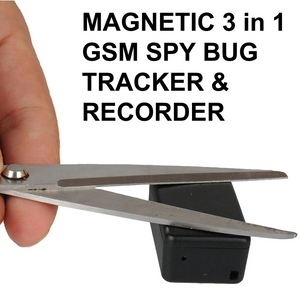 Mini Magnetic GSM Listening device GPRS Tracker Locater and SD Card Sound Recorder