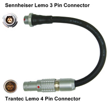 Sennheiser Lemo 3 Pin FVB Microphone Adapter Converter for Radio Transmitter Bodypacks