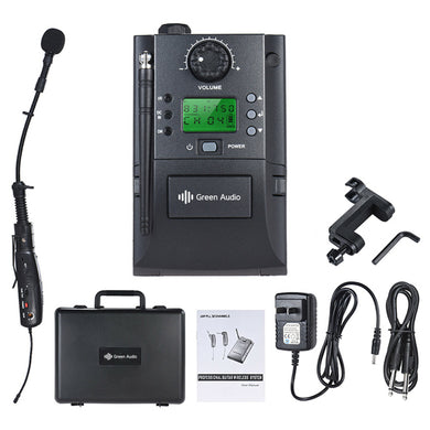 Premium Quality Wireless Instrument Microphone System For Violin Mandolin Banjo
