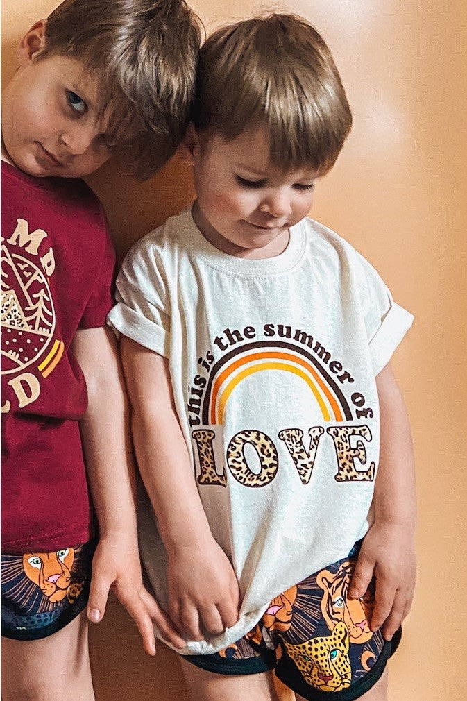 kids SUMMER OF LOVE tshirt /tank