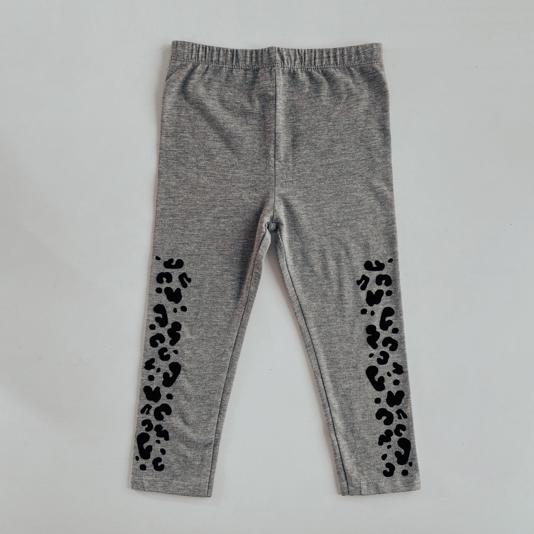 kids BASICS leopard LEGGINGS