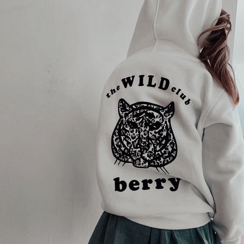 kids WILD CLUB zip up hoodie