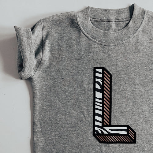 kids INITIAL/NUMBER luxe