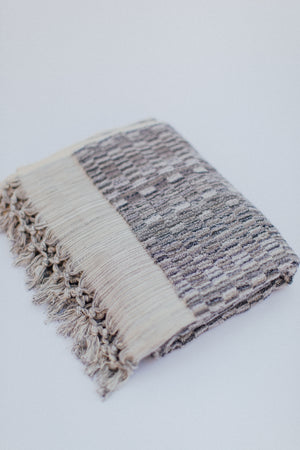 grey luxury towel