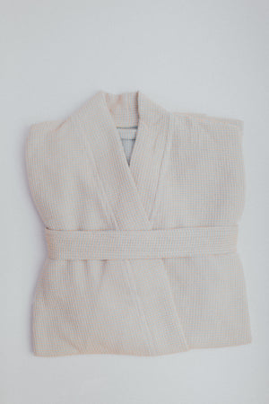 The Sherbet Bathrobe in Soft Butter