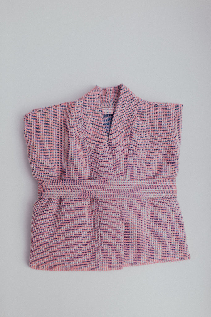 The Sherbet Bathrobe in Pink