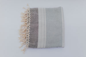 Elmas Towel in Robins Egg Blue