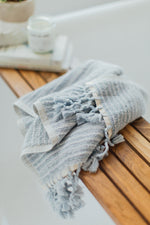 Blue Sea Bath Mat