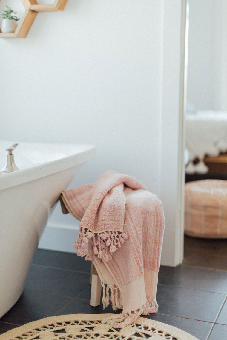 Blush Pink Bath Set