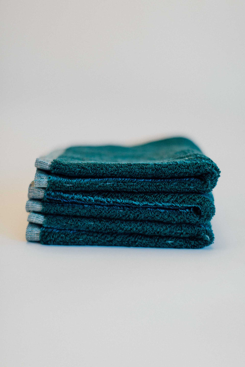 Deep Sea Green Facecloth
